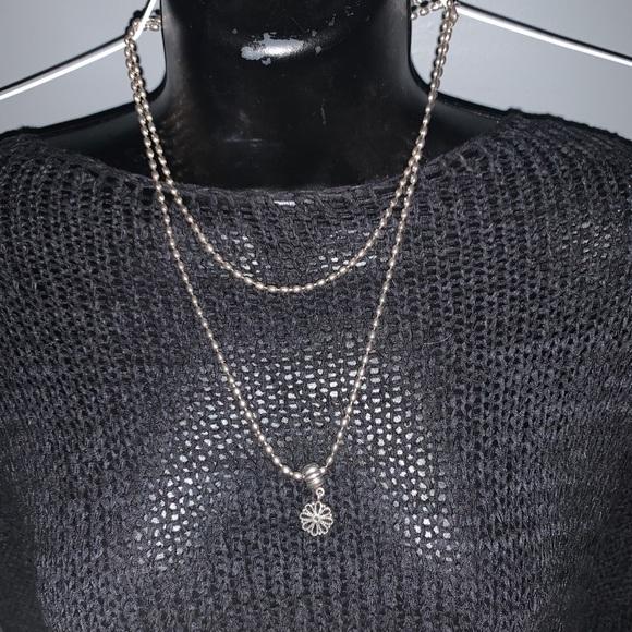 Pandora Rice Chain + Gold & Silver clip charm